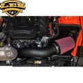 2015-2016 mustang ecoboost open luchtfilter of cold air intake.