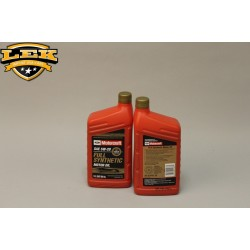 Ford Motorcraft olie 5W20 Full synthetic oil.